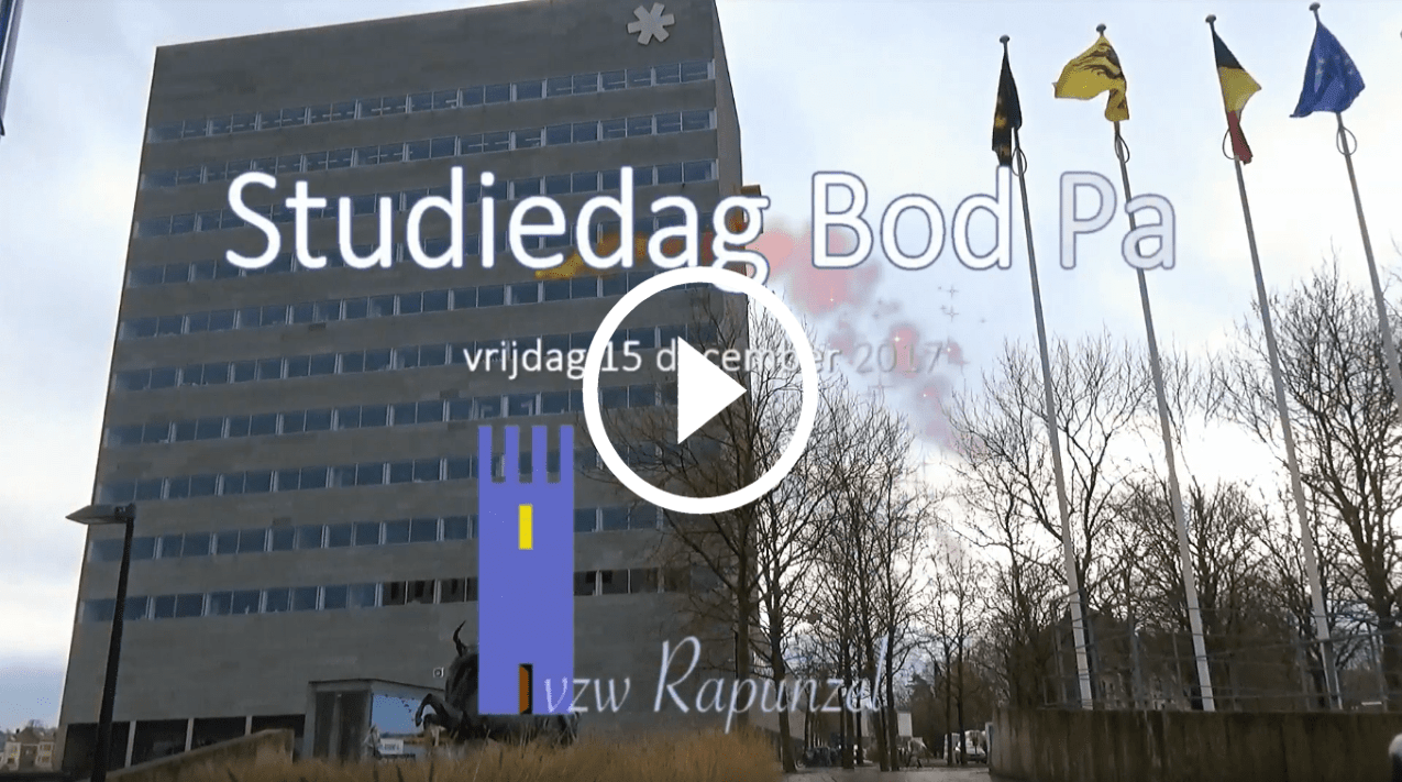 Video Sfeervideo studiedag Bod Pa Rapunzelvzw 2017